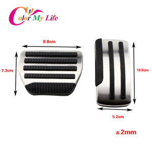 Image 5 - Car Pedals for Nissan X trail T31 Qashqai J10 Car Stainless Steel AT MT Pedal Cover for Nissan X trail 2010 2013 Qashqai 2012 15