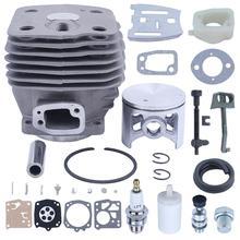 Поршень цилиндра 54 мм для Husqvarna 288XP 181 281 288 бензопилы 503506301, впускной коллектор, декомпрессионный клапан, дроссельная штанга, цепь