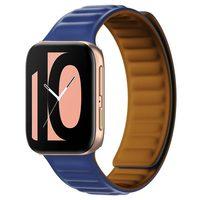 Correa de reloj para Oppo Watch, banda de silicona magnética colorida de 41mm y 46mm, pulsera deportiva para Oppo Watch de 46mm y 41mm