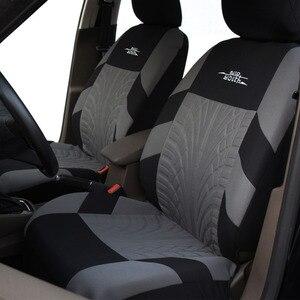 Image 2 - AUTOYOUTH Embroideryรถที่นั่งครอบคลุมชุดUniversal Fitรถยนต์ส่วนใหญ่ครอบคลุมยางTrackรายละเอียดStyling Car Seat Protector