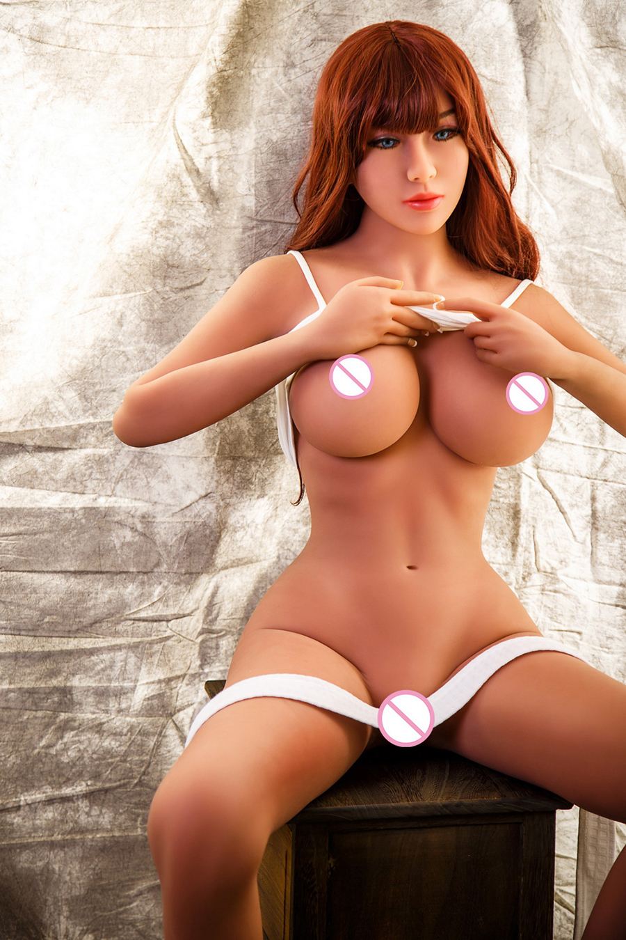 H422d56ccce1c46bcba380bf0256703371 xxxTPE Realistic 158cm Top Quality Realistic Breasts Real Silicone Sex Doll Lifelike Vagina Anus Oral Sex Doll For Men Sexy Doll