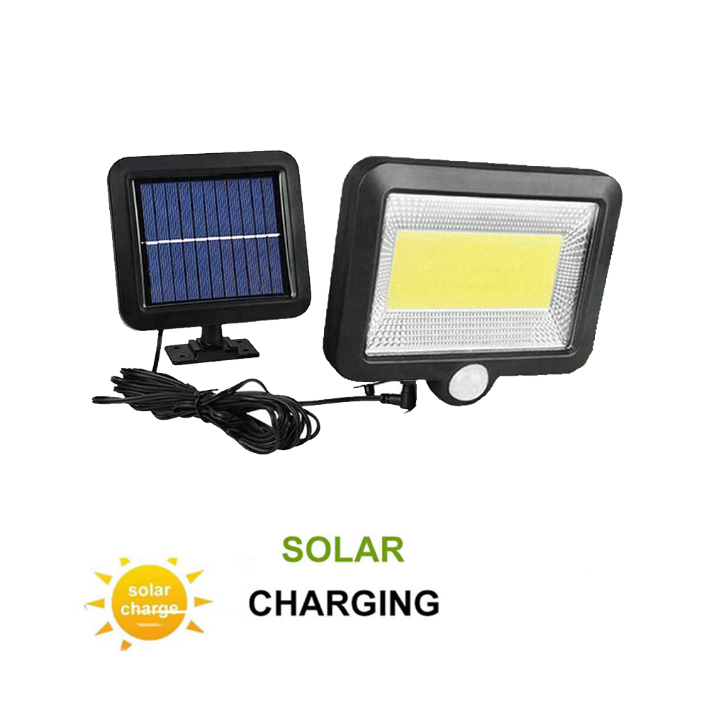 LED Solar Light Motion Sensor Outdoor Garden Detachable Solar Panel Powered Lamp Waterproof Security Lighting Nightlight Split M