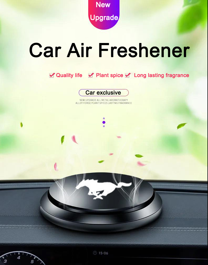 Car Air Freshener for car parfum air freshener Interior Decoration Instrument Aromatherapy Car Accessories for ford mustang gt
