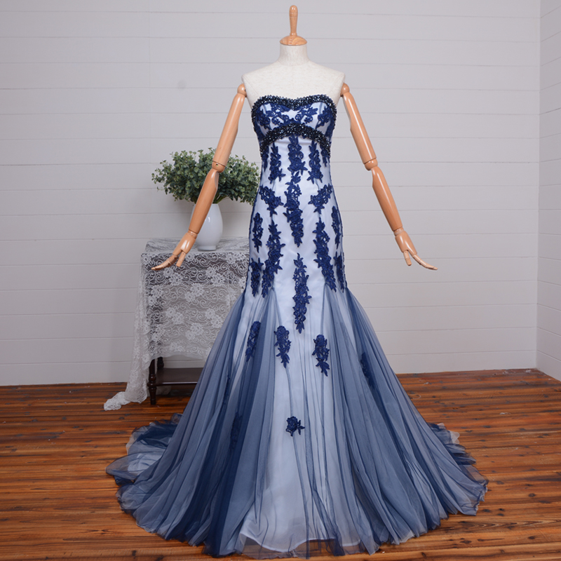 2015 New Arrival Elegant Mermaid Evening Gown Lace Appliques Beading Sweetheart Off The Shoulder Mother Of The Bride Dresses