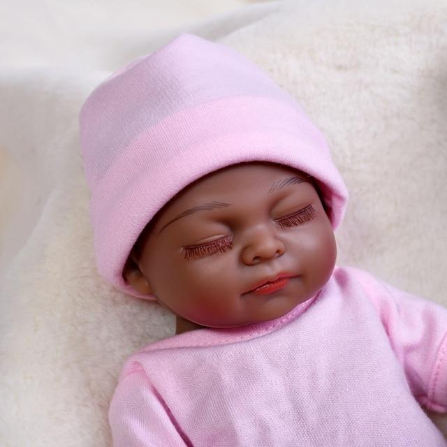 Фото детский младенец реборн 10 дюймов маленький силиконовый полноразмерный