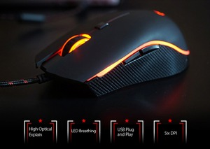 Image 3 - Motospeed V40 USB Wired Gaming Mouse 6 Button Optical with LED Backlit Display Pro Gamer For PC Laptop Desktop Computer Game