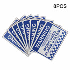 8pcs Monitored Alarm...