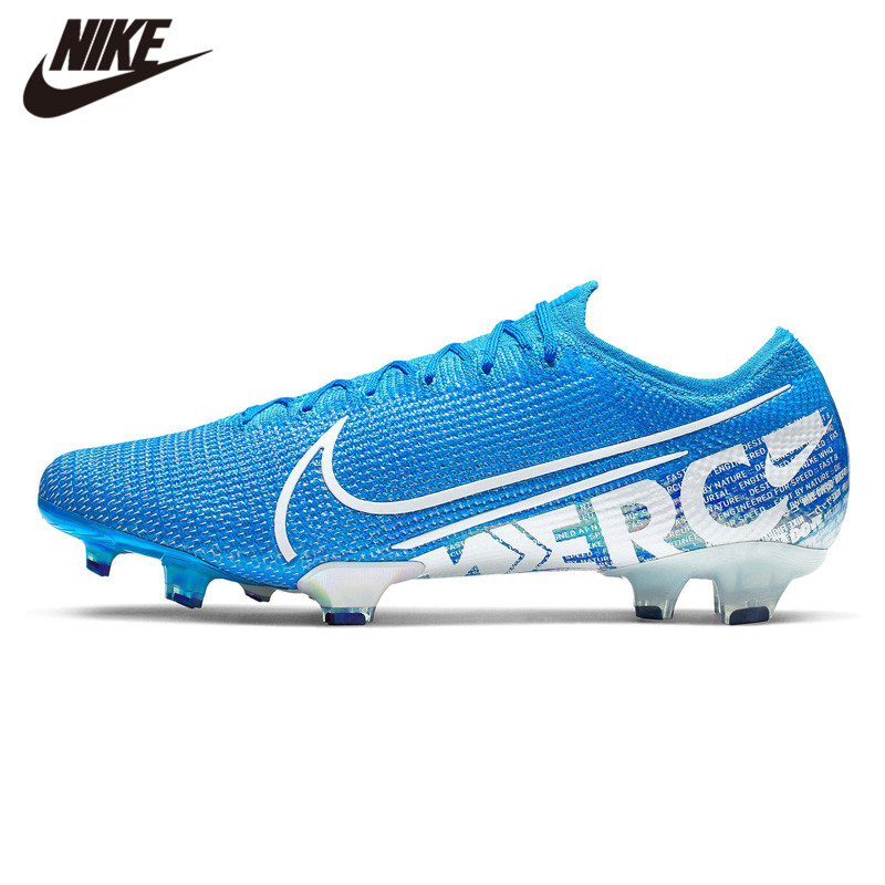 NIKE VAPOR 13 ELITE FG Football Shoes Blue New Soccer Shoes New Arrival