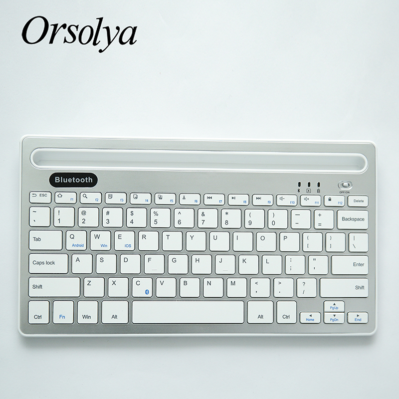 iOS Android Smartphones Foldable Bluetooth Keyboard,Portable ...