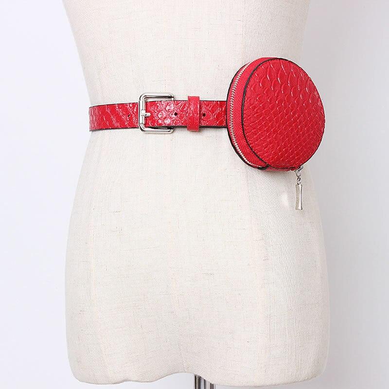 Women Belt Bag Simple Personality Leather Accessories Women Trend Wide Belts For Women Streetwear Wild Girdle GCC3194