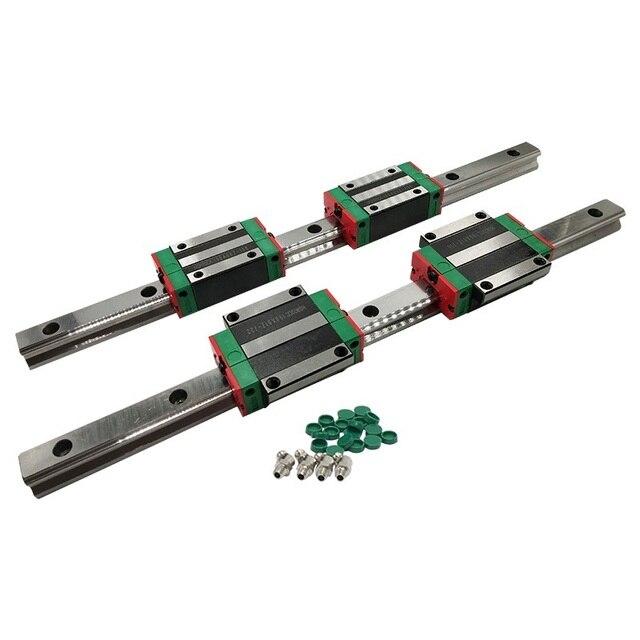 500mm 2600mm HGH סדרת כבד עומס כדור סוג מעקה מדריך ליניארי 30mm HGR30 עם בלוק HGH30CA HGW30 CC עבור מכונת חיתוך