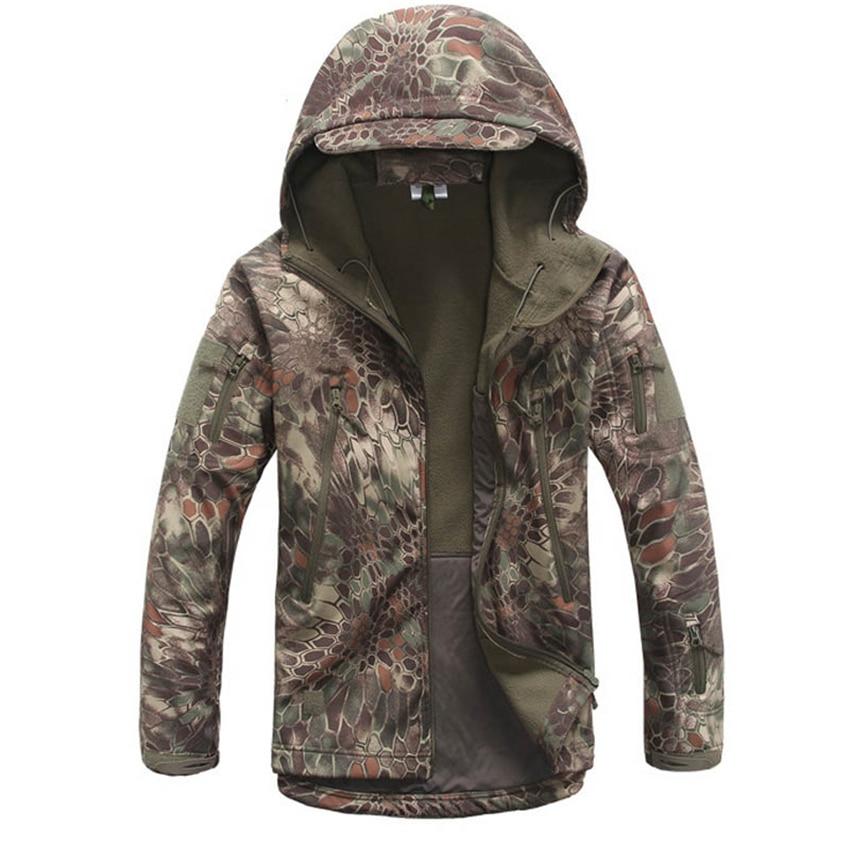 14 цветов, Мужская армейская камуфляжная куртка, военная страйкбола, тактическая одежда для улицы, спецназ, маскировка, одежда, водонепроницаемое пальто