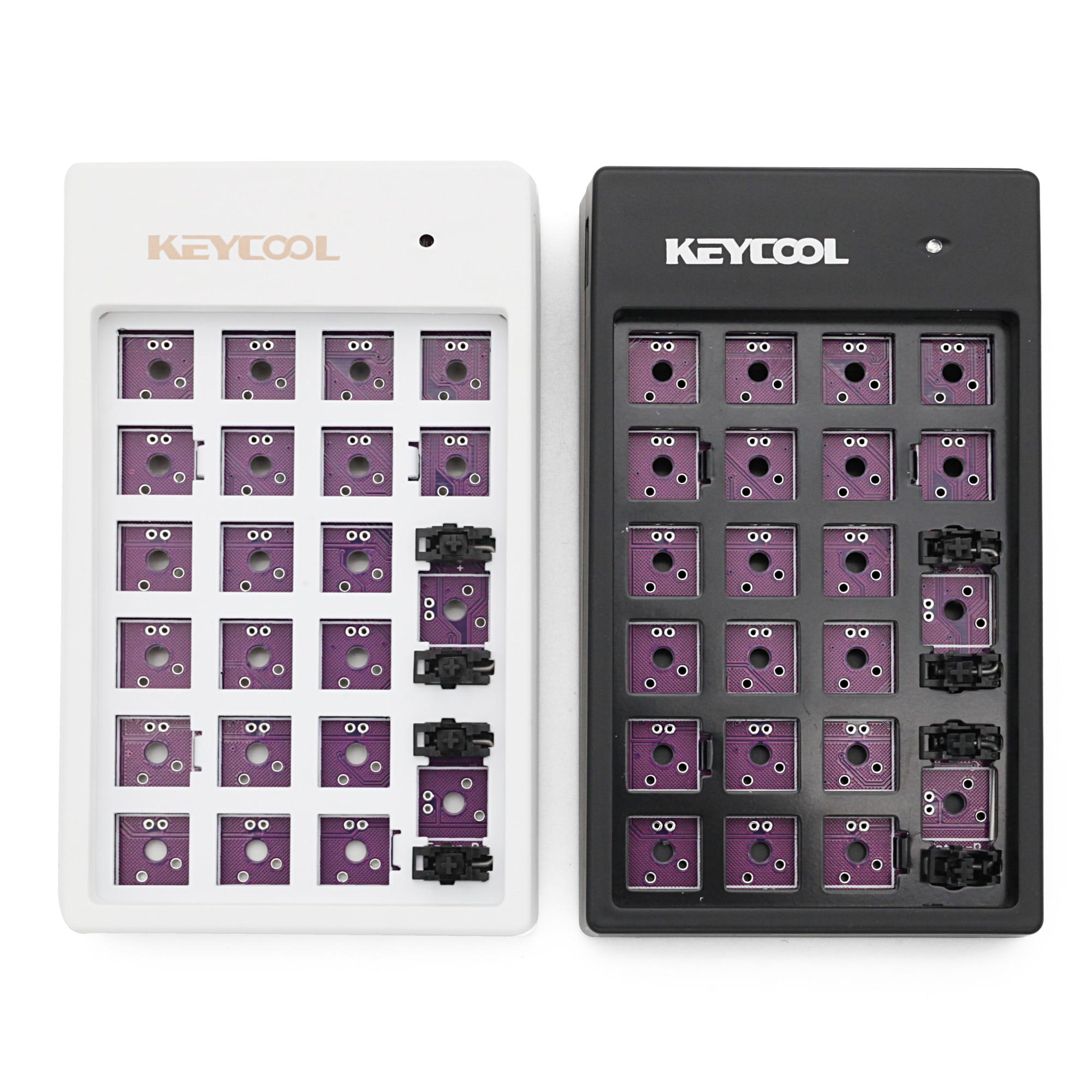 Custom Mechanical Keyboard Kit 22 Keys Supports Usb Hub Kinds Of Led Effects  PCB 20% Keycool Numpad Multimedia Key