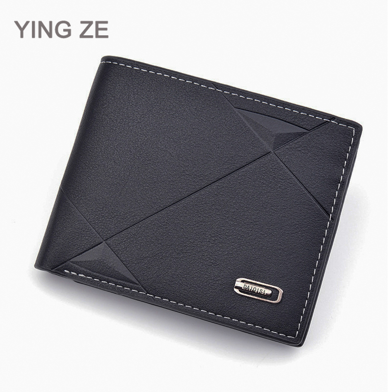 Wallet Men Purse Man Credit Card Holder Wallet Cash Mini PU Gift Coin Pocket Brand Design Male Money Billfold Maschio Clutch
