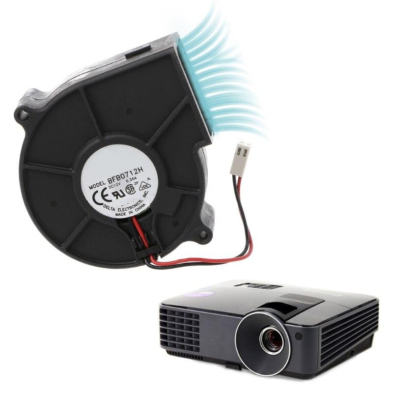 Для Delta BFB0712H 7530 DC 12V 0.36A Вентилятор проектора центробежный вентилятор охлаждения A0NC        АлиЭкспресс