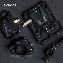 Plaque de batterie à montage en V de poche inclinable pour appareils photo reflex numériques plaque de montage en V TA PBP V