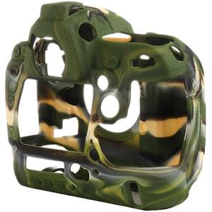 Image 5 - لنيكون غلاف حماية سيليكون للكاميرا الليتشي الملمس كاميرا حامي غطاء لنيكون D4 D4S D5 D500 D800 D810 D810a D750 D850 D7500