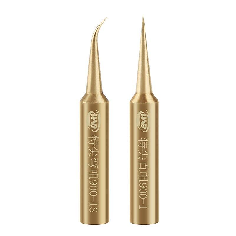Copper 900M-T Soldering Tip Oxygen-free Welding Sting Solder Iron Tips For 936 937 852D BGA Soldering Station