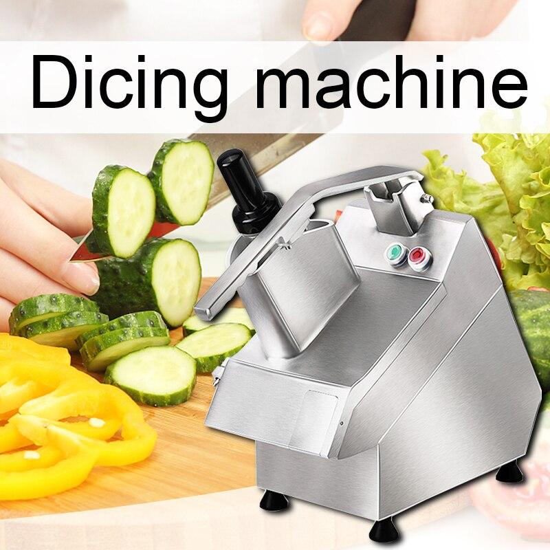 220 В/240 В Коммерческая электрическая машина для резки овощей многофункциональная автоматическая машина для резки овощерезка