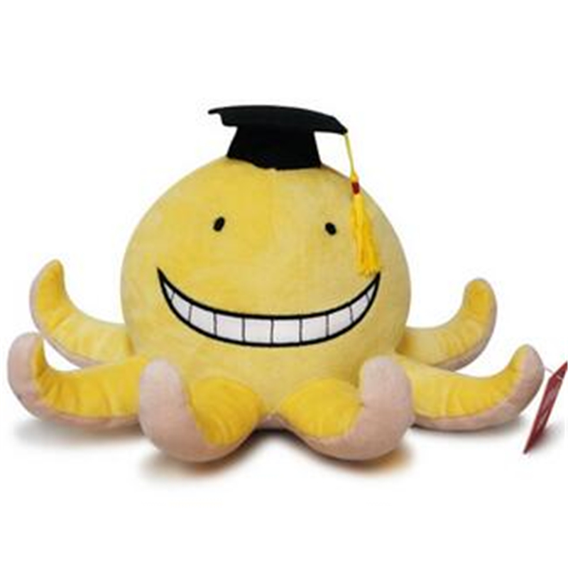 Anime Korosensei Assassination Classroom Teacher Cosplay Mini Plush Toy Stuffed Doll Gift Collection Soft PP Cotton 15cm 2019New