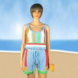 Напрямую от производителя, распродажа осенней новой стильной модной одежды, хит продаж, вязанное крючком женское платье, пляжный