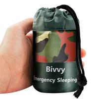 Ultraleicht Hohe Qualität Tragbare Camping Schlafsack Wasserdichte Camouflage Outdoor Notfall Schlafsack Camping Reise Wandern
