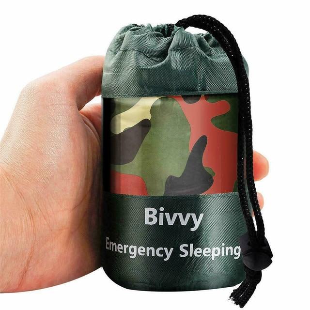 Ultralight High Quality Portable Camping Sleeping Bag Waterproof Camouflage Outdoor Emergency Sleeping Bag Camping Travel Hiking