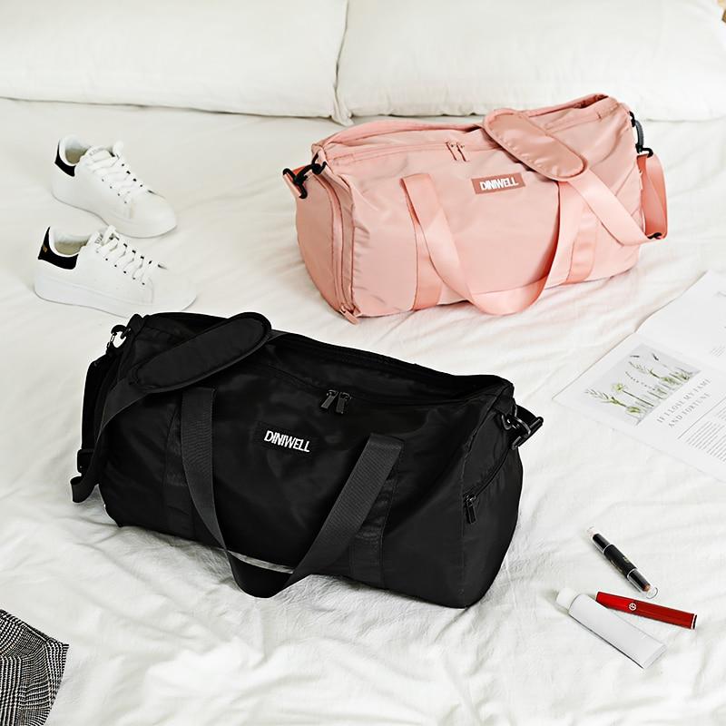 Women Waterproof Gym Sports Bag Men Fitness Training Backpacks Multifunctional Travel Nylon Bolsa Shoulder Handbag Luggage Bags