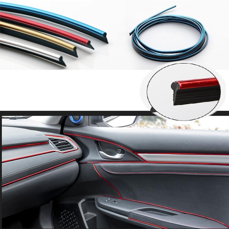 5 м Карбон внутренний молдинг отделка Лента для приборной панели для Peugeot 307 206 308 407 207 2008 3008 508 406 Mazda 3 6 2 CX-5 CX-7