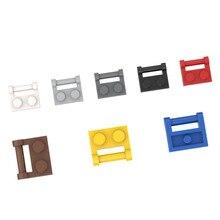 Hinge-Plate Bricks Model Building-Blocks Kids Toys City Classic Educational Single-Side
