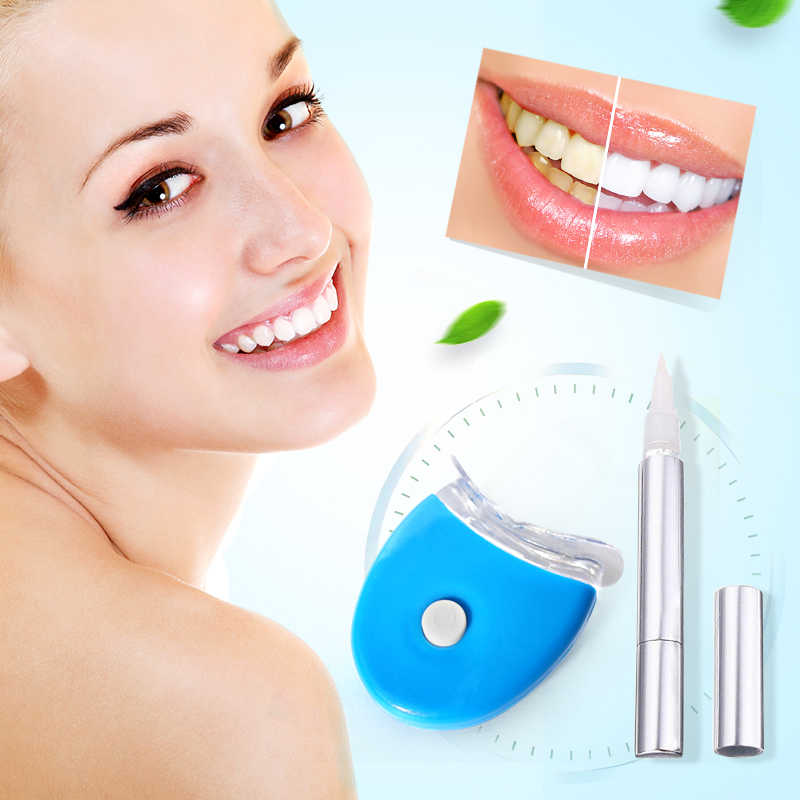 Teeth Whitening Kits Bleaching System White Teeth Brigh Smile Gel