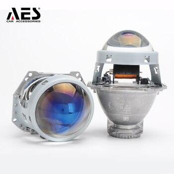 AES Kingkong F1 Hella 5 Bi-xenon Blue Or High Clear Projector Lens 3.0 inch LHD RHD Projector Lens Retrofit Modified Headlight aes kingkong f1 hella 5 bi xenon blue or high clear projector lens 3 0 inch lhd rhd projector lens retrofit modified headlight