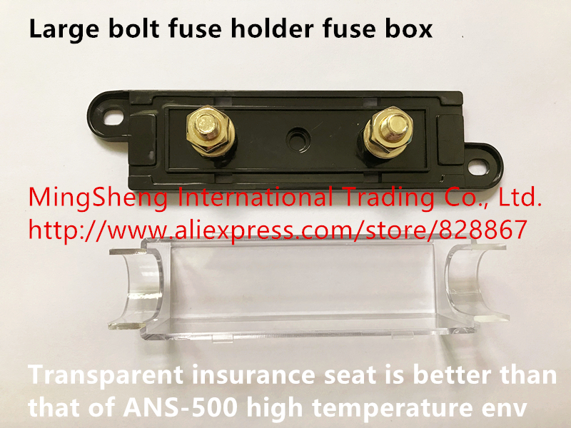 [DIAGRAM_3ER]  Original new 100% large bolt fuse holder fuse box transparent insurance  seat is better than that of ANS 500 high temperature env|fuse holder|holder  fusefuse box fuses - AliExpress | Large Fuse Box |  | www.aliexpress.com