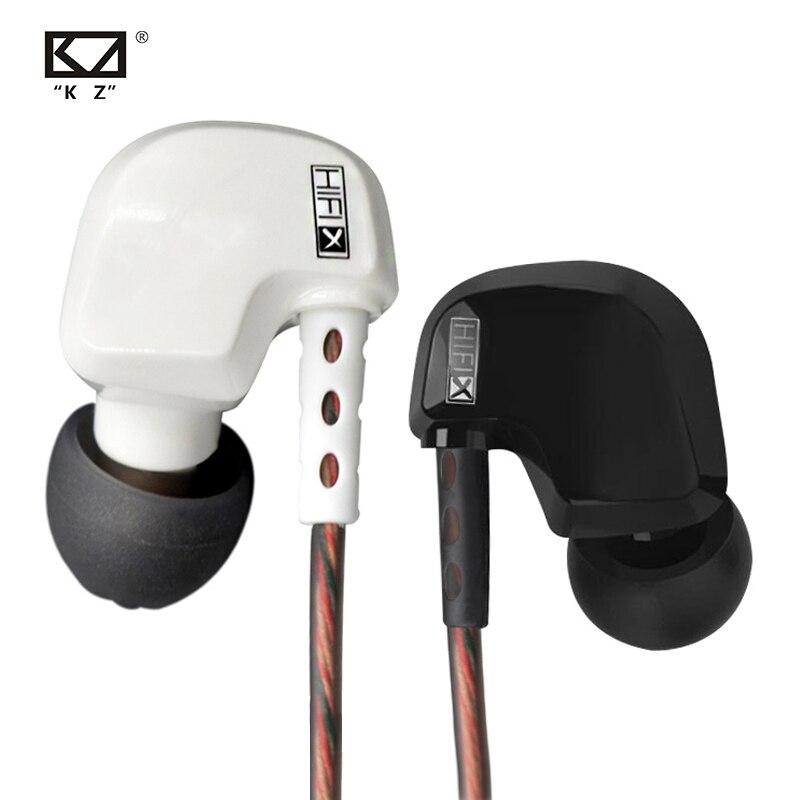 KZ HD9 Earphones HiFi Sport Earbuds Copper Driver 3D Heavy Bass Earhook Headphones In Ear Earphone For Running With Microphone