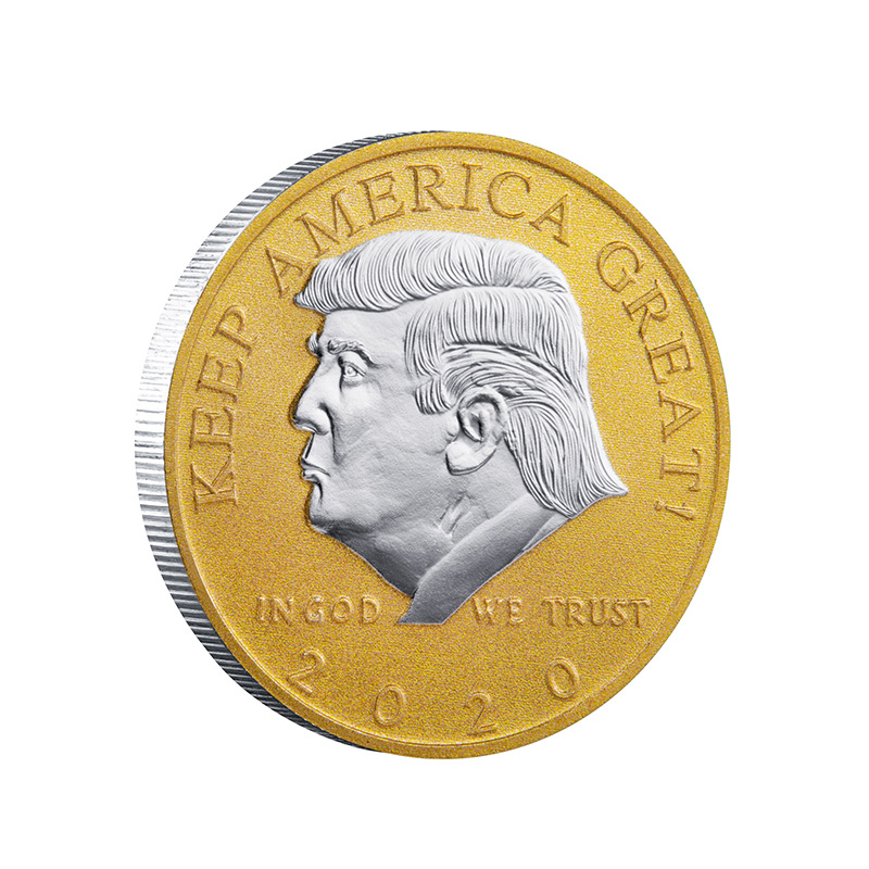 Keep America Great Colorful Coins Donald Trump Collective Coins