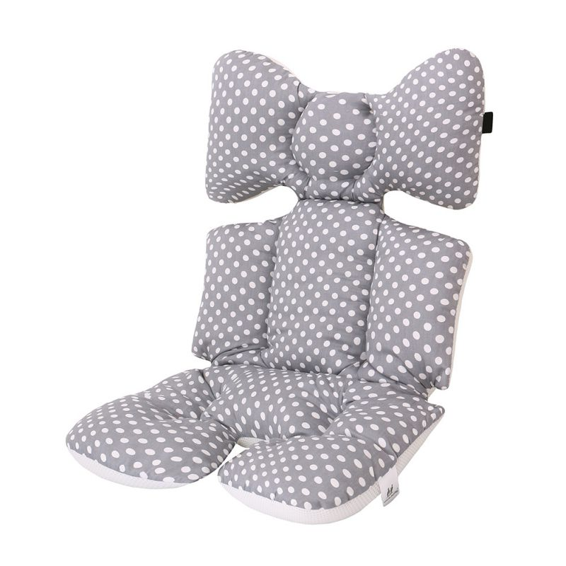 Baby Stroller Cushion Pad Thick Cotton Breathable Stroller Car High Chair Seat Mat Liner Cover Protector For Newborn