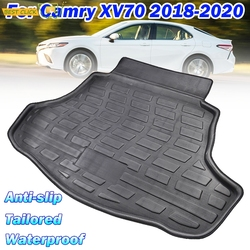 Cargo Boot Liner Trunk Floor Mat Tray For Toyota Camry Daihatsu Altis 2018 2019 2020 Trunk Carpet Protection Accessories Mud