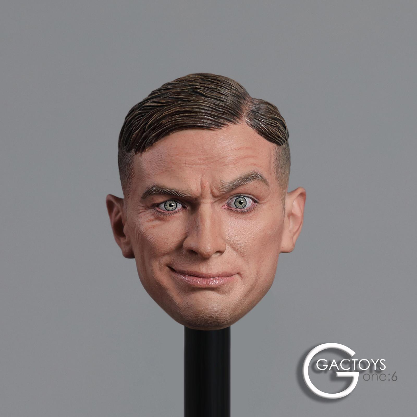 "Facepoolfigure 1//6 Men Expression Head Sculpt w//Connector F 12/"" Male Figure Body"