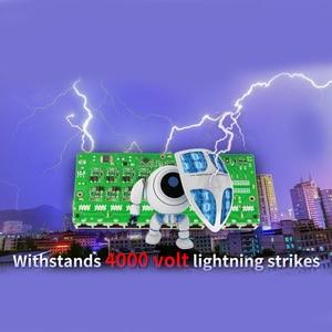 Image 3 - 48V POE schalter Ethernet mit 6 RJ45 Netzwerk Ports IEEE 802,3 af/zu protokoll Geeignet für CCTV kamera system/Wireless AP