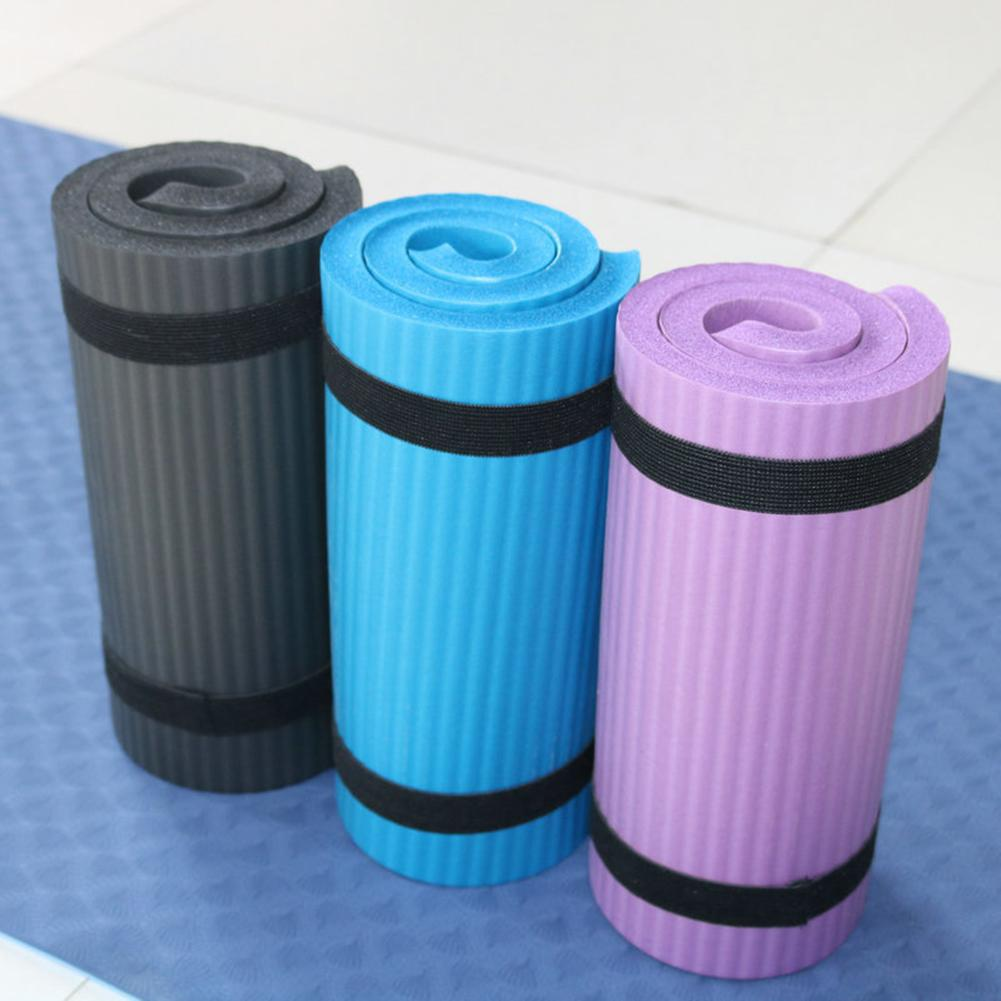 Yoga Mat Thick NBR Yoga Pad for Workout Training Abdominal Exercise 20