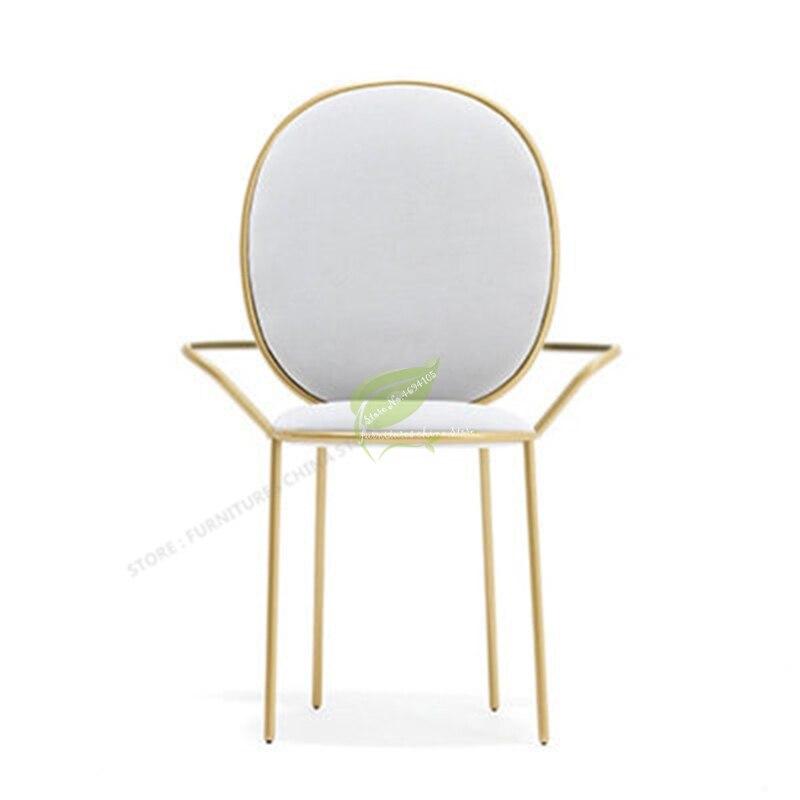 Stool Bar Tabouret De Bar Iron Bar Chair Bar Stool Seat Beauty Dotomy Salon Furniture Make Up Chair Nordic Ins Modern Simplicity