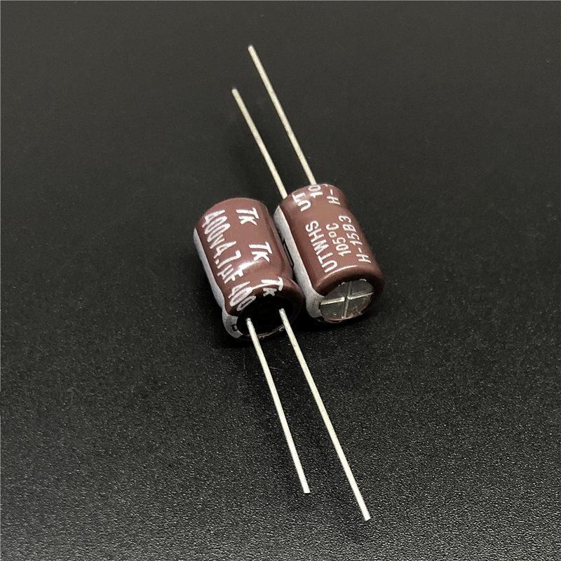 50pcs 470uF 25V 10x12.5mm SANYO SUNCON CA 25V470uF Low Impedance Capacitor