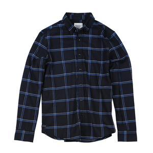 Image 5 - SIMWOOD מזדמן חולצות גברים 2020 חדש 100% טהור כותנה ארוך שרוול משובץ חולצות זכר Slim Fit Plus גודל camisa masculina 190008
