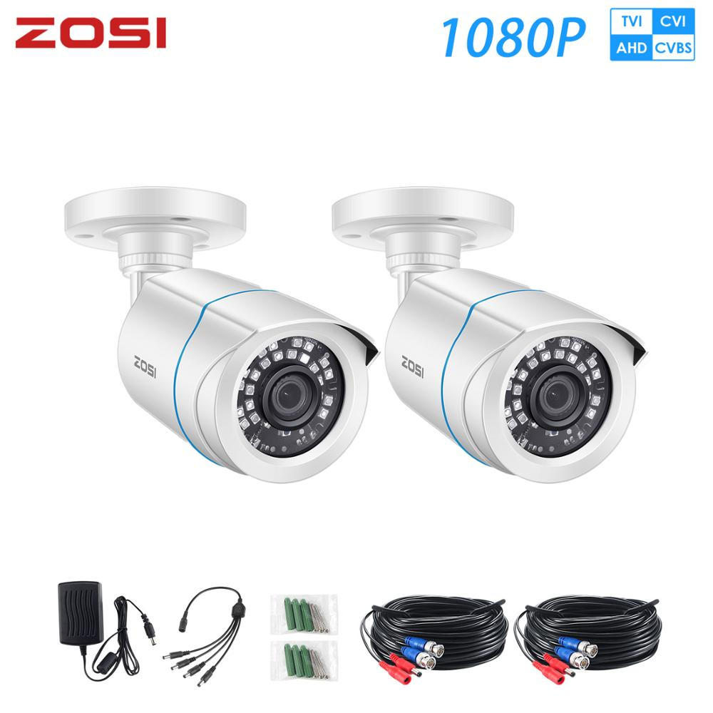 ZOSI 1080P 960H AHD Analog TVI IR Cut Filter Nightvision Video Waterproof Bullet CCTV Surveillance Camera For DVR Kiit
