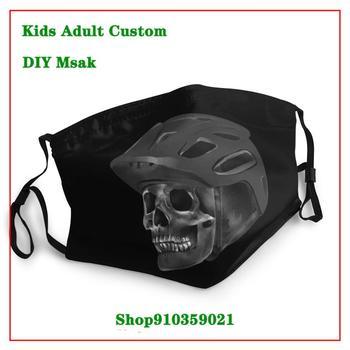 MTB RIDER Mountain Biker Kids adult men women mascara reutilizable con filtro face masks mascara protectora facial lavable