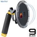 Купольный водонепроницаемый чехол QIUNIU для дайвинга, 6 дюймов, 45 м, с плавающим захватом и триггером, аксессуар для GoPro Hero 9 Black Go Pro 9