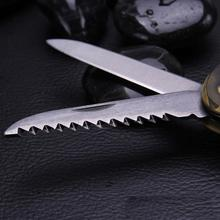 Camouflage Clasp Knife Saw Screwdriver Multifunctional Outdoor Tools Climbing Carabiner Quickdraws Aluminum 5 in 1