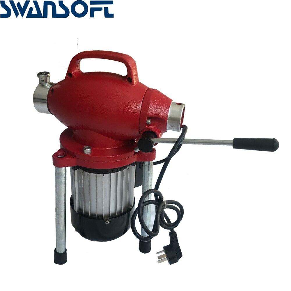 220 В профессиональный очиститель труб машина для очистки дренажных труб очиститель сточных вод Электрический Змеиный канализационный - 3