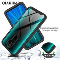 Shockproof Case For Redmi Note 8 Pro 9 9S 9A 9C Xiaomi Mi 10 Lite 9T Cover TPU PC Bumper Anti Shock Armor Hard Phone Cases Coque