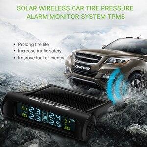 Solar TPMS Car Tire Pressure A